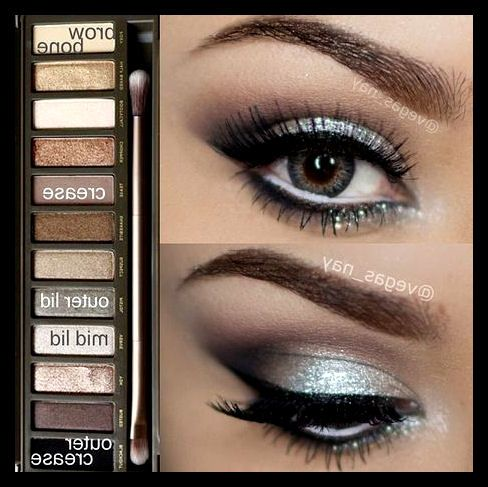 U.D. Naked 2: eyeshadow idea (: