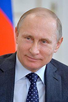 Vladimir Poutine à Moscou, en 2015. Fédération de Russie