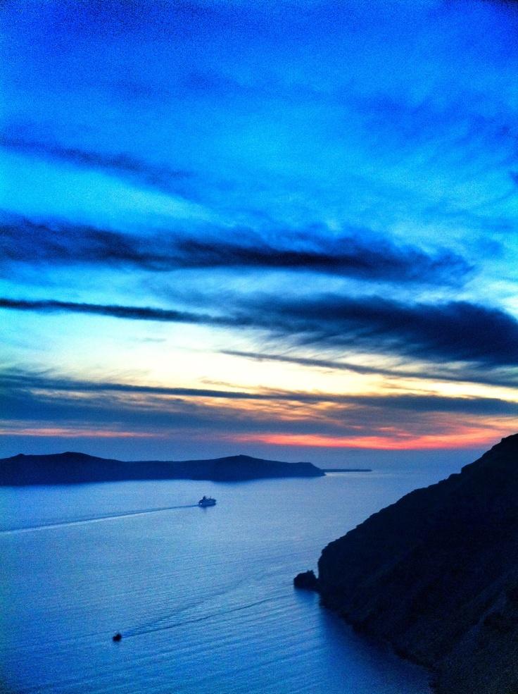 Santorinni sunset