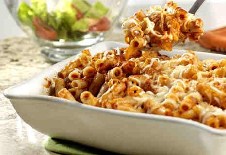 Baked ziti: Dinner, What Baked Recipes, Casserole, Easy Baked Ziti, Pasta Dishes, Food, Bakedziti, Parmesan Cheese, Tube Shaped Pasta