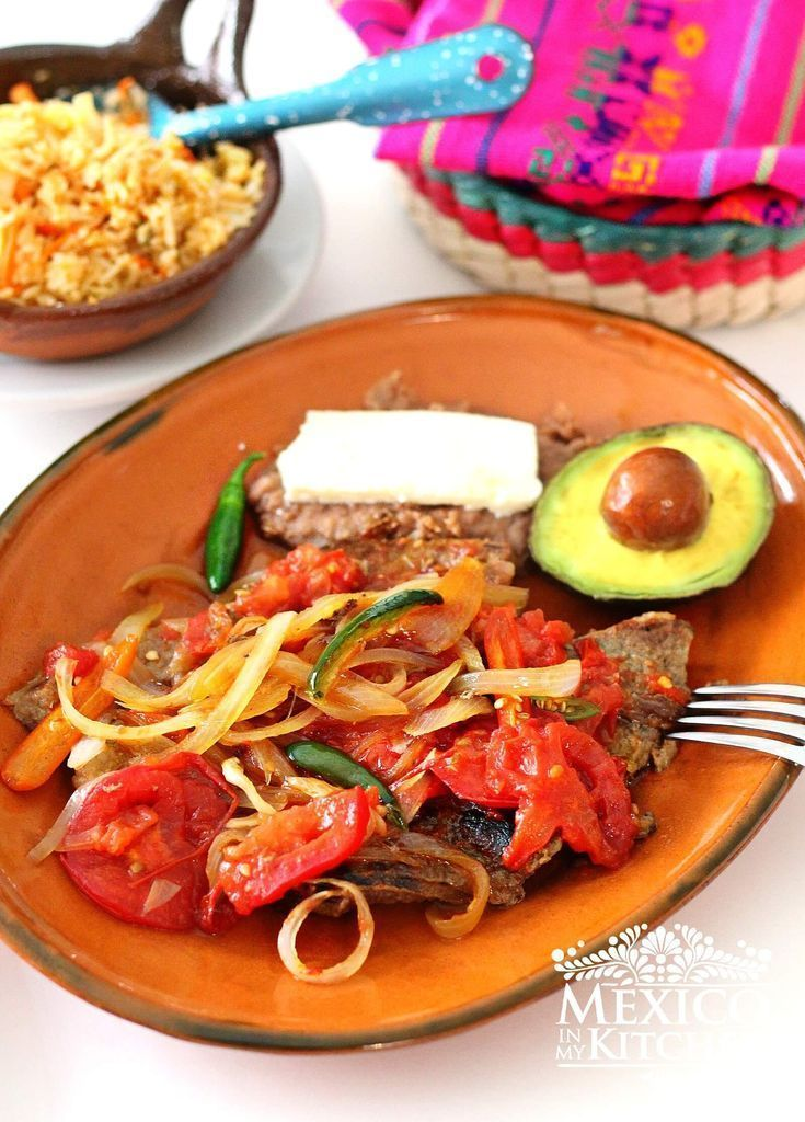 Steak Ranchero Love At First Bite Mexico In My Kitchen Recipe