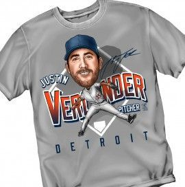MLB - Tigers / Verlander - Tee Shirt