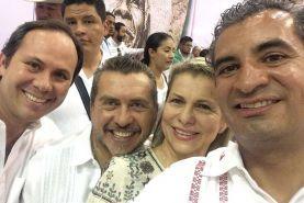El Diputado Federal, Hugo Cabrera, hizo acto de presencia en la conmemoración del 102 aniversario de la Ley Agraria, evento...