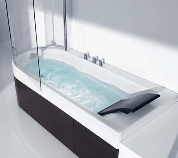 sauna shower tub combination