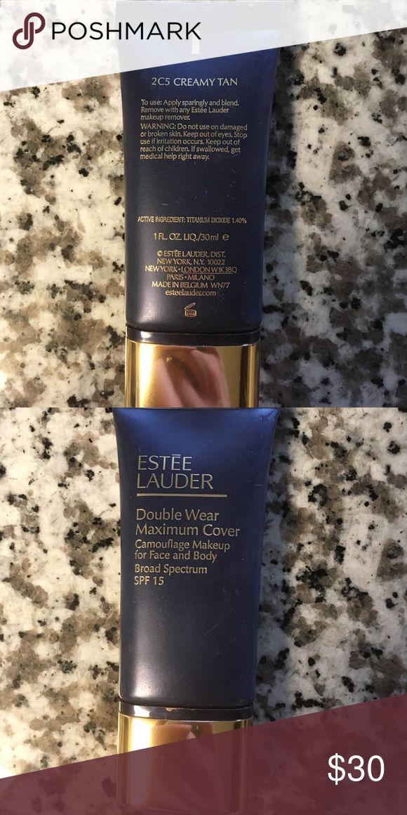Estée Lauder Double Wear Maximum Cover (2C5) Only used a