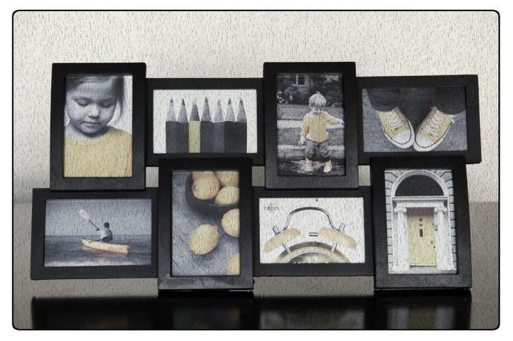 Marco de 8 fotos Código Ch05 60 x 30 cm $12.000