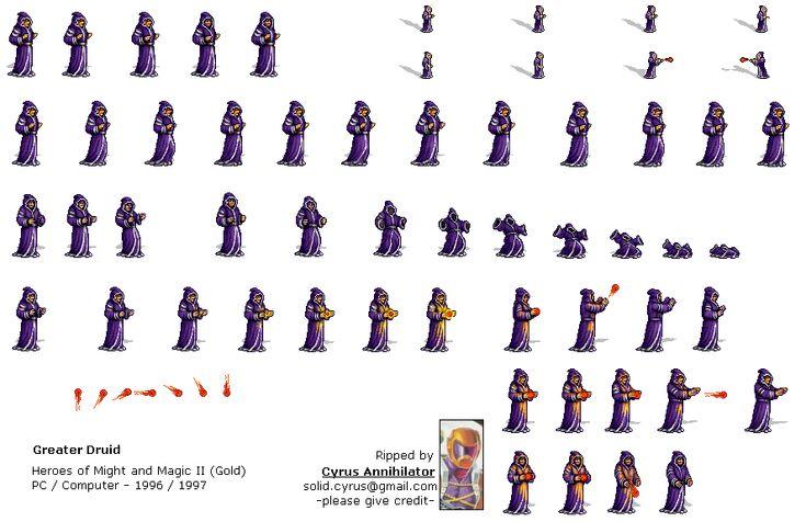 Sprite Database : Greater Druid