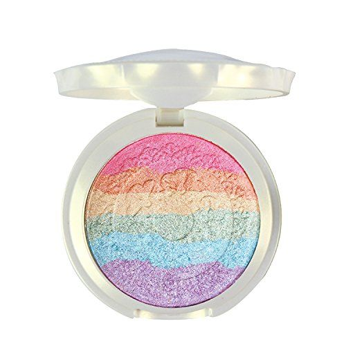 Pure Vie® Professional 7 Colors Rainbow Eyeshadow Palette Makeup Contouring Kit for Salon and Daily Use *** Learn more by visiting the image link. (Note:Amazon affiliate link)