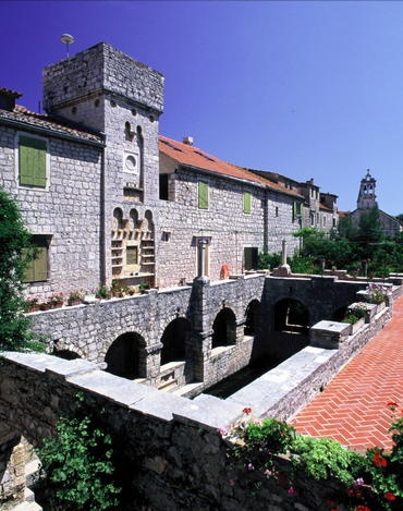 UNESCO World Heritage Site - Stari Grad Plain, Hvar Island, Croatia.  Located in the Adriatic Sea, this agricultural region was first colonized by Ionian Greeks from Paros in the 4th century BC. Culturally it remains isolated and agricultural production of grapes and olives remains the same as during ancient Greek period.