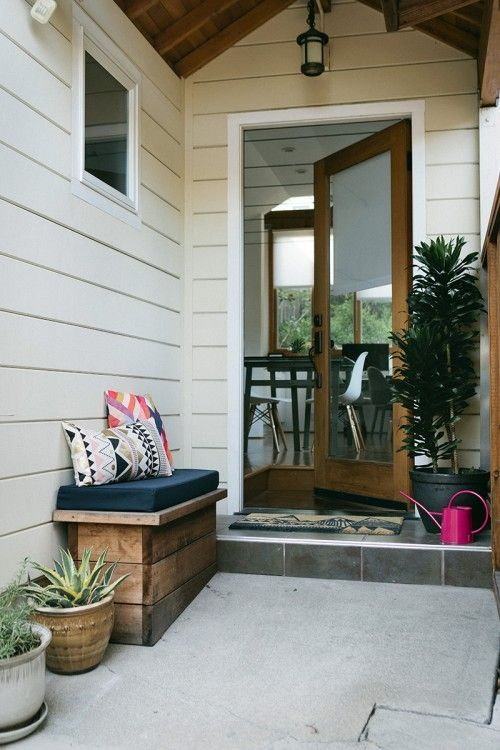 Lovely front porch
