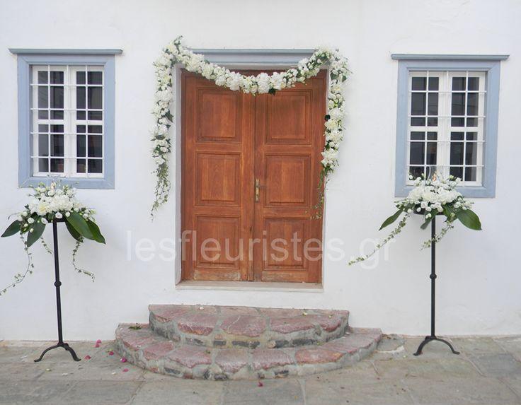 Ανθοστολισμός γάμου στην #Ύδρα #lesfleuristes #λουλούδια #ανθοσύνθεση #ανθοπωλείο #γλυφάδα #γάμος #βάφτιση #νύφη #δεξίωση