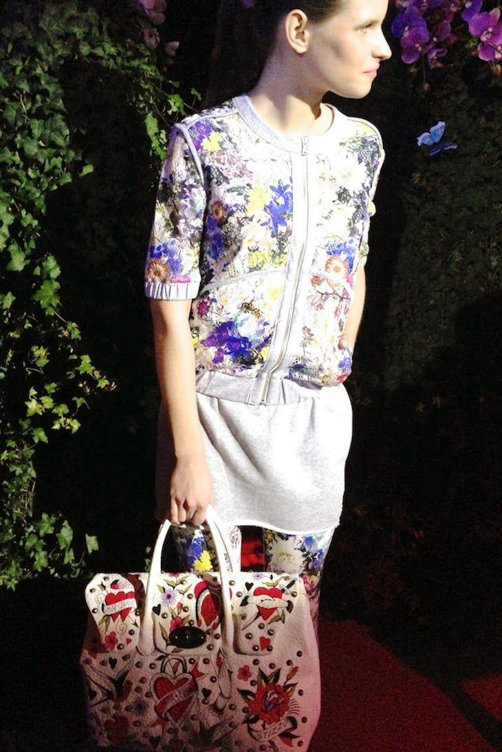 #fashion #summer #girl #model #butterflies #flowers #milan #trend #fashionblogger #event #mfw @mia bag #farfalle #fiori #floral  collezione mia bag 2014, felpe gaelle bonheur, trend2014, the club milano, michela coppa, nima benati, the fashionamyblog ,amanda marzolini ...