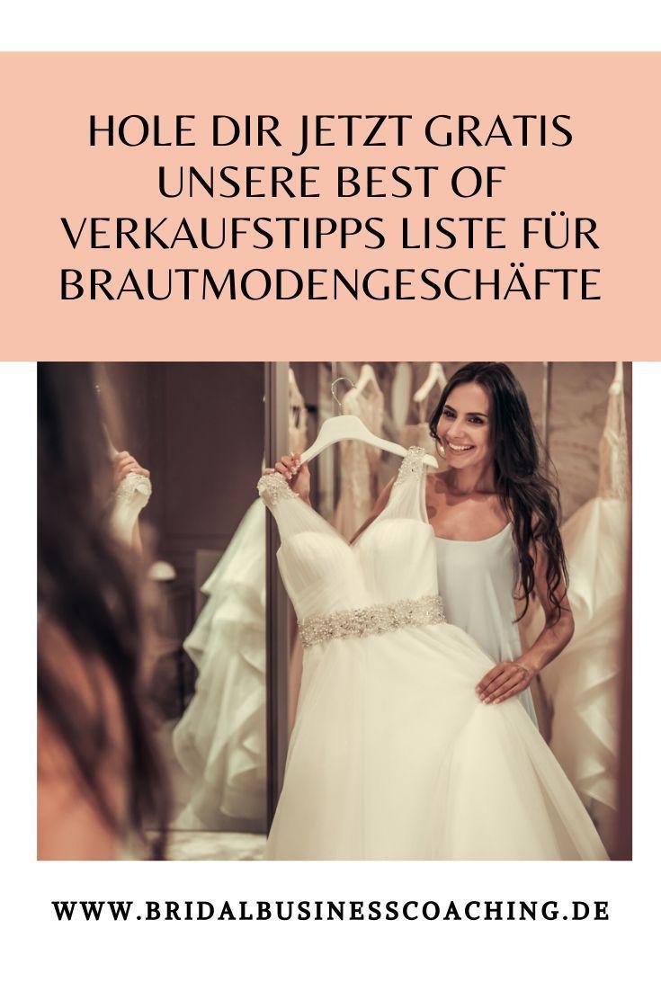 Pin auf Verkaufstipps für Brautmodengeschäfte