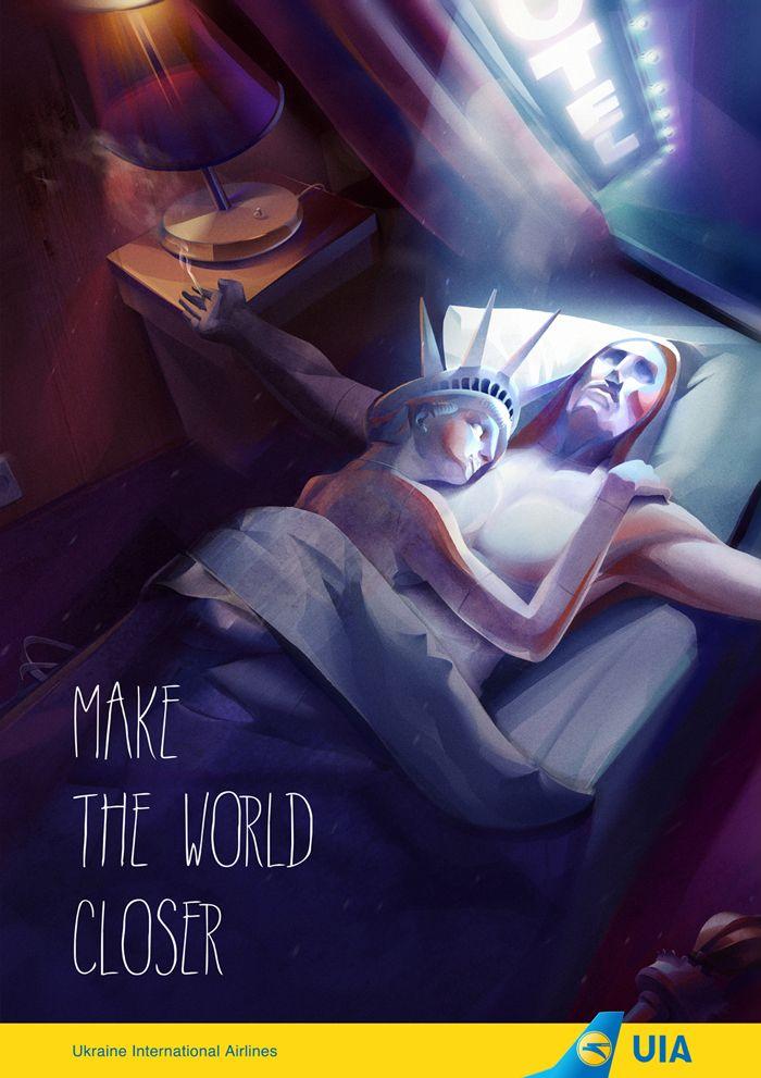 Рекламная кампания UAI, для студии Бабича, Иллюстрация © АнтонинаАлександрова