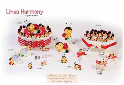 """2016 Linea """"HARMONY - COCCINELLA"""" Resina - 120 - Read more: http://mercantedisognivoghera.blogspot.com/2015/12/collezioni-la-120-harmony-coccinella.html#ixzz3vyg6qyqv"""