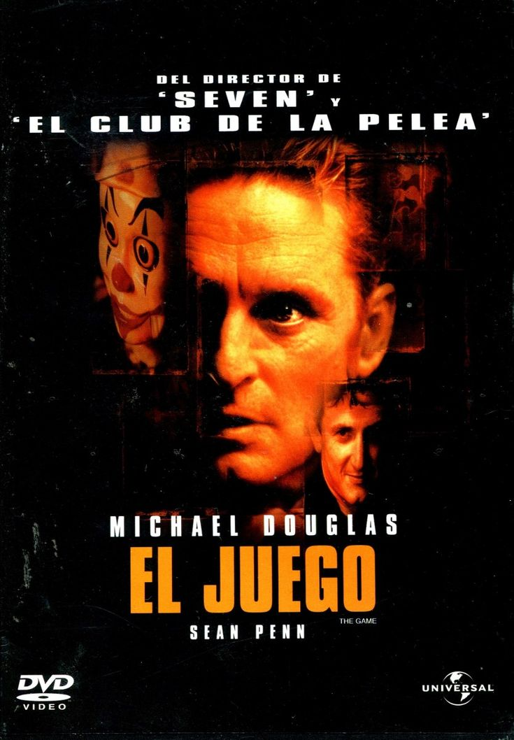 Dvd El Juego The Game 1997 David Fincher Douglas Penn D Nq Np 20916 Mlm20200090302 11201 Peliculas De Crimenes Carteleras De Cine Peliculas Audio Latino Online