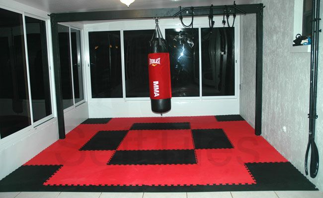 SoftTiles for Home Gyms Workout Rooms