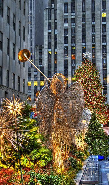 Christmas, Rockefeller Center, NewYork City