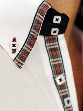 Camisas Italianas únicas com detalhe, originais e distintas DI PREGO UOMO Camicie