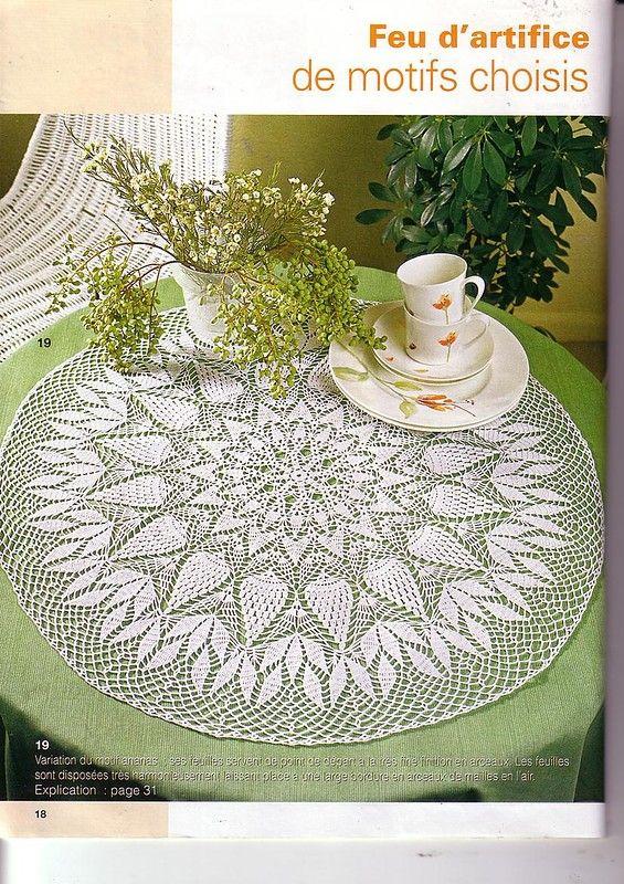 Magazine: Elena Crochet D\'Art 35 - La costurera, el bordado ...