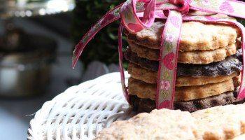 Biscotti al lime, limone e basilico - che voglia di estate!