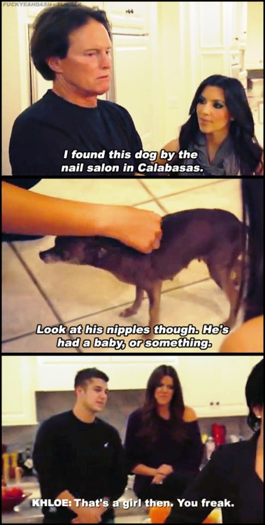 Khloe and Scott are probably my favorite people on this show lol