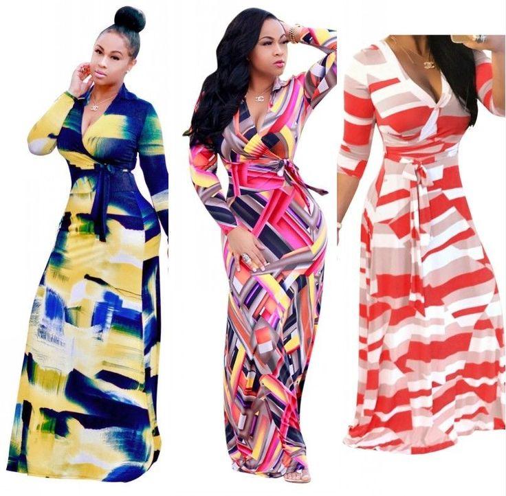 19.99---3---Womens Plus Size Dashiki Traditional Graffiti Print African Ball Gown Maxi Dress #Unbranded #BallGownMaxiMaxiDress #Casual