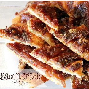 Homemade Bacon Crack. This bacon candy recipe is insanely divine.