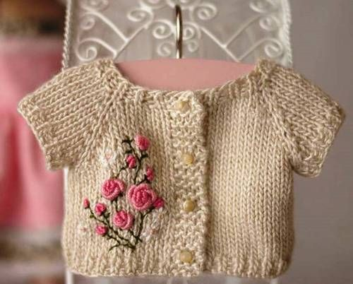 Sweet baby sweater