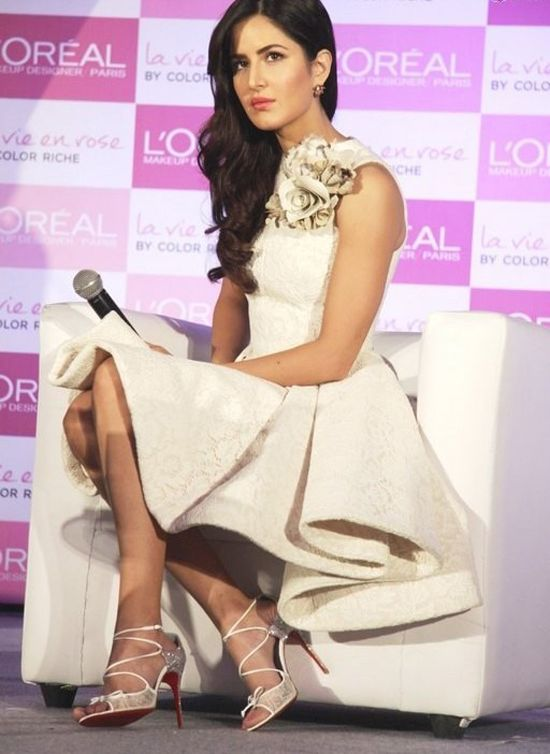 Katrina Kaif at La Vie En Rose lipsticks launch. #Bollywood #Fashion #Style #Beauty #Hot #Sexy