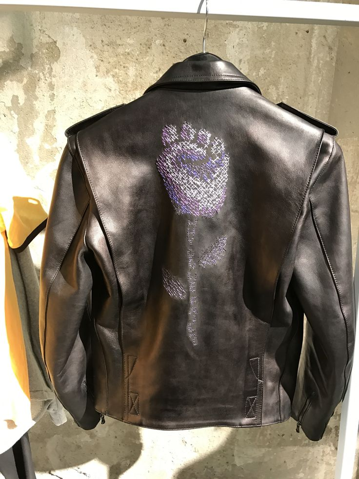 #selfmade #leatherjacket #pittiuomo92