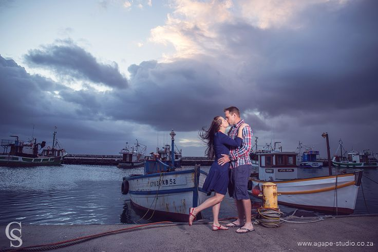 Cape Town Wedding Photographer, Western Cape Wedding Photographer, Agapé Studio, Charl Smith: Kalk bay harbour engagement shoot | Andre and Rhode