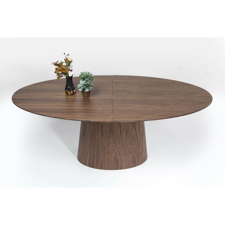 Τραπέζι (επεκτεινόμενο) Benvenuto Walnut 200(50)x110cm  €1.270