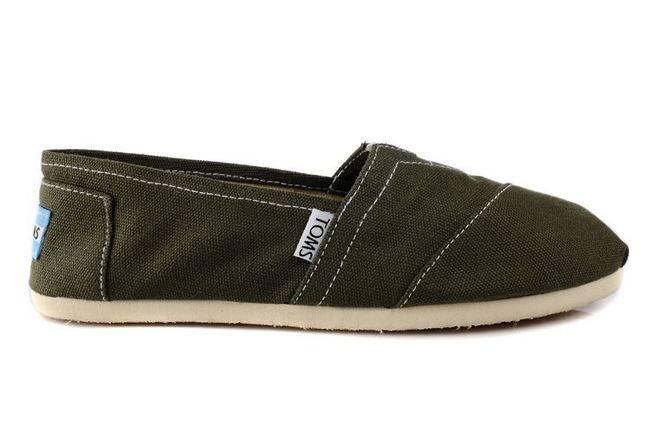 New Arrival Toms women classics shoes army green