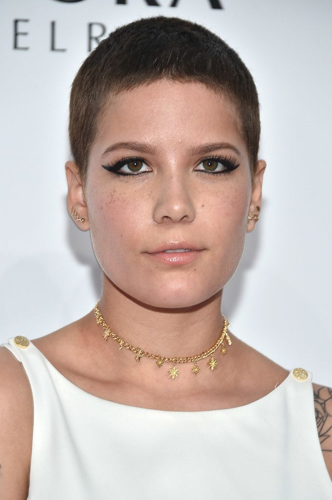 Halsey Buzzcut In 2019 Picture Polish Short Buzzed