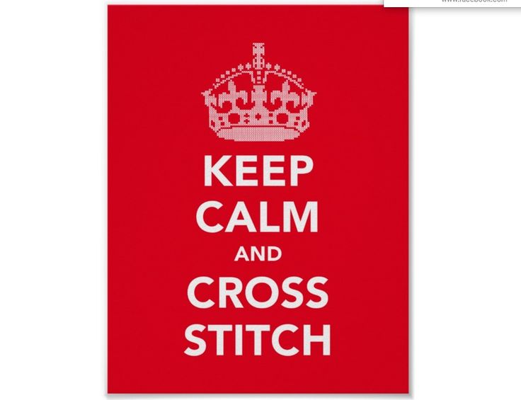 Keep calm and cross stitch posters.  #poster #keepcalm #crossstitch #crown