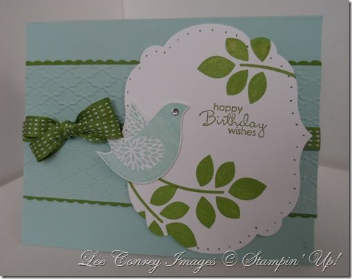 by Lee Conrey, Stampingly Yours: Happy Birthday, Birds Cards, Betsy Blossoms, Birthday Wish, Birthday Cards, Stamps Sets, Projects Ideas, Cards Birds, Blossoms Stamps