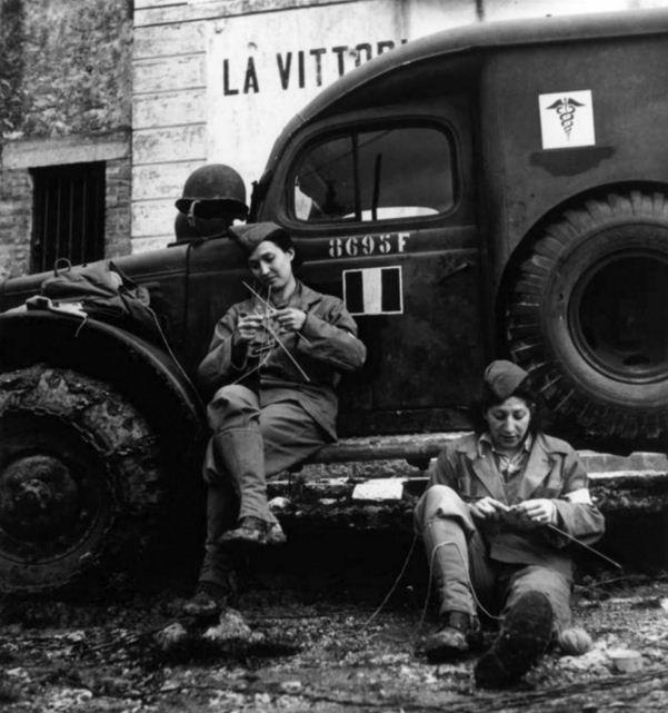 Французские союзницы. Девушки в армии: участницы Второй мировой войны