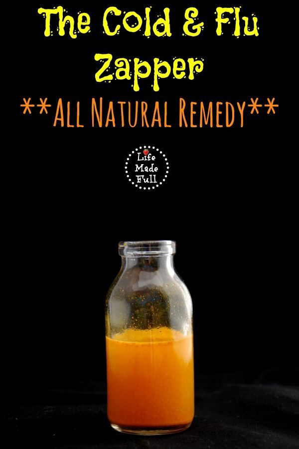 Cold & flu season is upon us! Try Cold & Flu Zapper--a natural cold remedy!