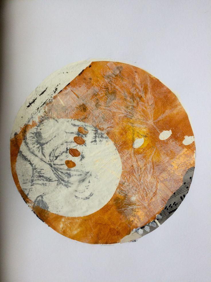 Collage 40x40 , Mette Daa 2016