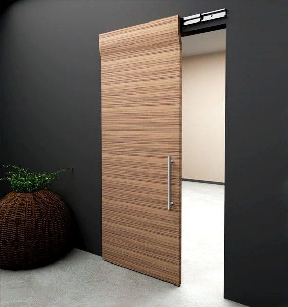 1000 ideas sobre puertas corredizas de madera en for Puerta corrediza de madera