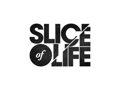 Slice effect, logo: Logos Vol 2, Logo Sliced, Design Typography, Art Identity Design, Logos Posters, Logo Logo, Creative Logos, Design Advertising Packaging, Art Corporate Design