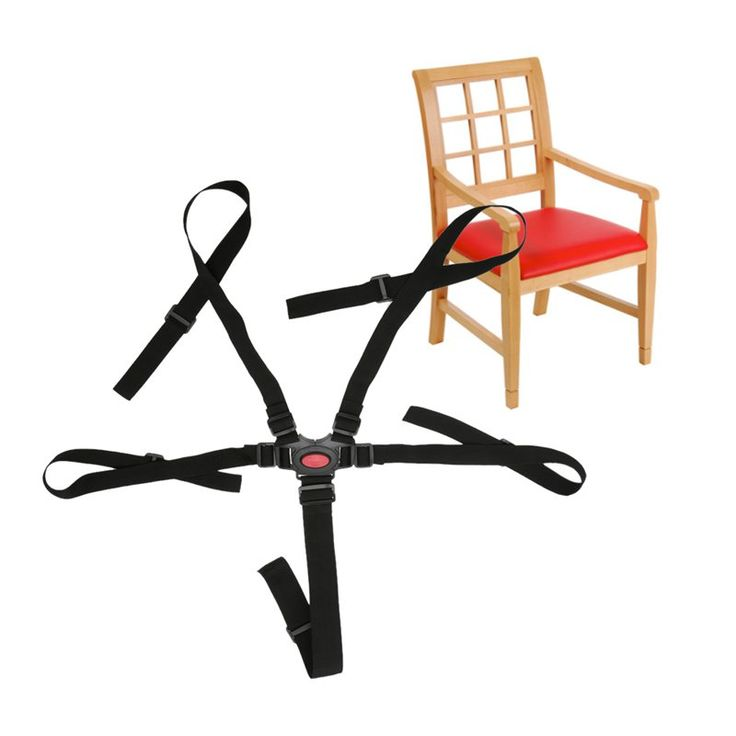 Quality 5 Point Harness Baby Safety Seat Belts For Strollers High Chair Baby Protection Seat Stroller Belt Strollers Accessories
