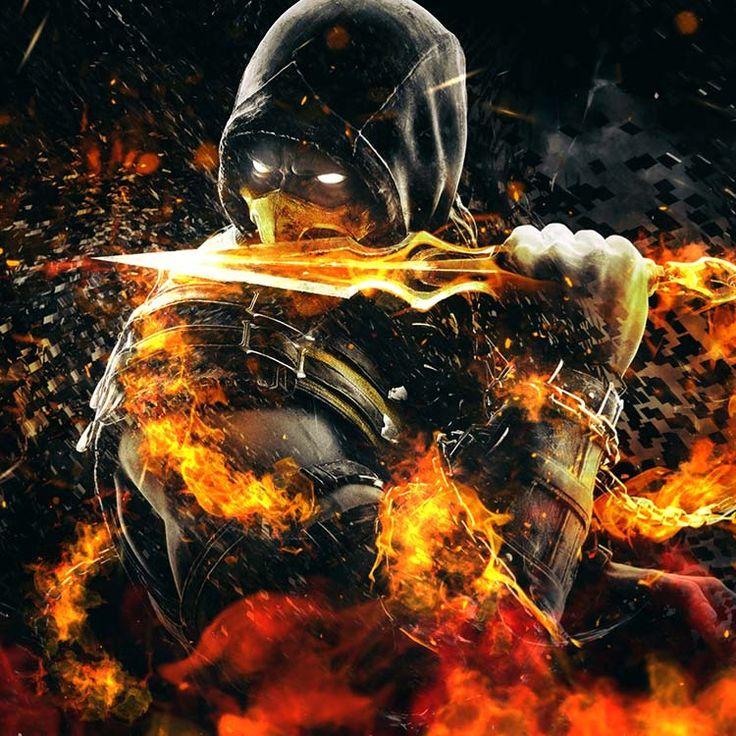 Akrep (Mortal Kombat) Duvar Kağıdı Motoru in 2020