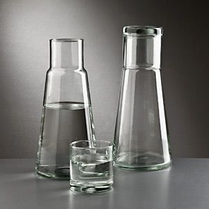 Bedside Bottle aus Glas