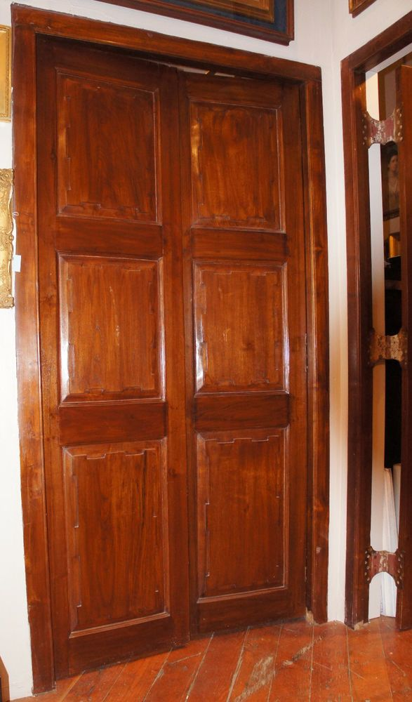 LargeEnglish Raj Plantation Solid Teak Double Door \u0026 Frame Restored 4 sets avail & 44 best Make a Statement   Antique Doors images on Pinterest ... Pezcame.Com