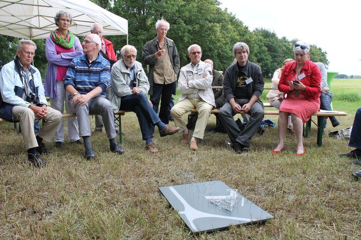 Natuurkunst Drenthe - GreenArtSpot Dalen - Driftplein - Observatorium - Presentatie ontwerp
