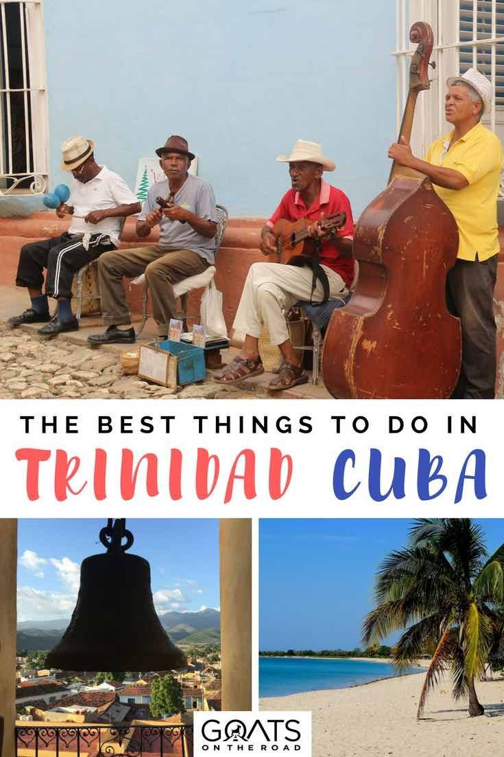 Planning a trip to Cuba? Here's what to expect of Trinidad including traveller tips on where to stay, what to eat and the best things to do in Trinidad | #cuba #cubatravel #caribbean #caribbeantravel #bestofcuba #trinidad #backpacking #islandlife #caribbeanislands #bestintravel #nextvacation #vacationinspiration