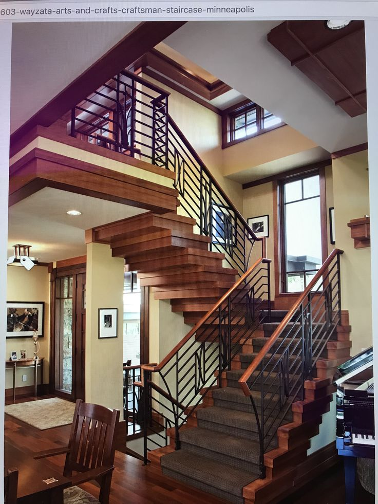 Best 25 Craftsman Staircase Ideas On Pinterest