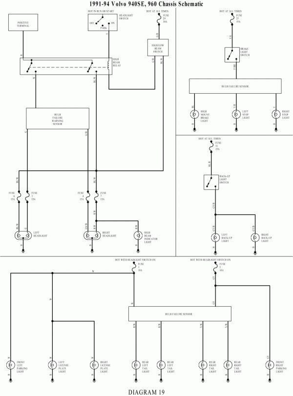 16 2002 Volvo V70 Electrical Brake Wiring Diagram Volvo Volvo V70 Diagram